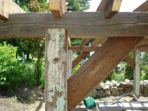 replace wood pergola