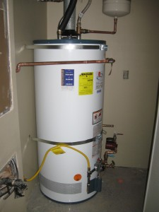 how to remove a water heater