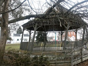 DIY gazebo removal
