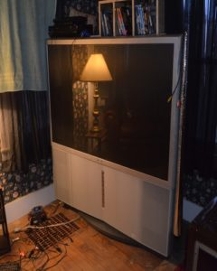 old projection TV