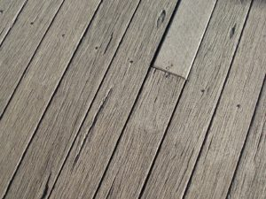 old wood deck restoration