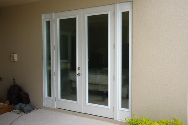 how to replace sliders with french doors