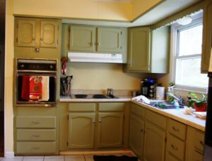 remove old kitchen countertops
