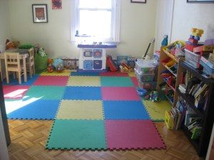 guest room to playroom conversion