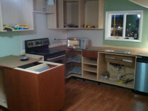 laminate kitchen countertop removal