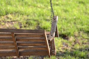 wood swing disposal