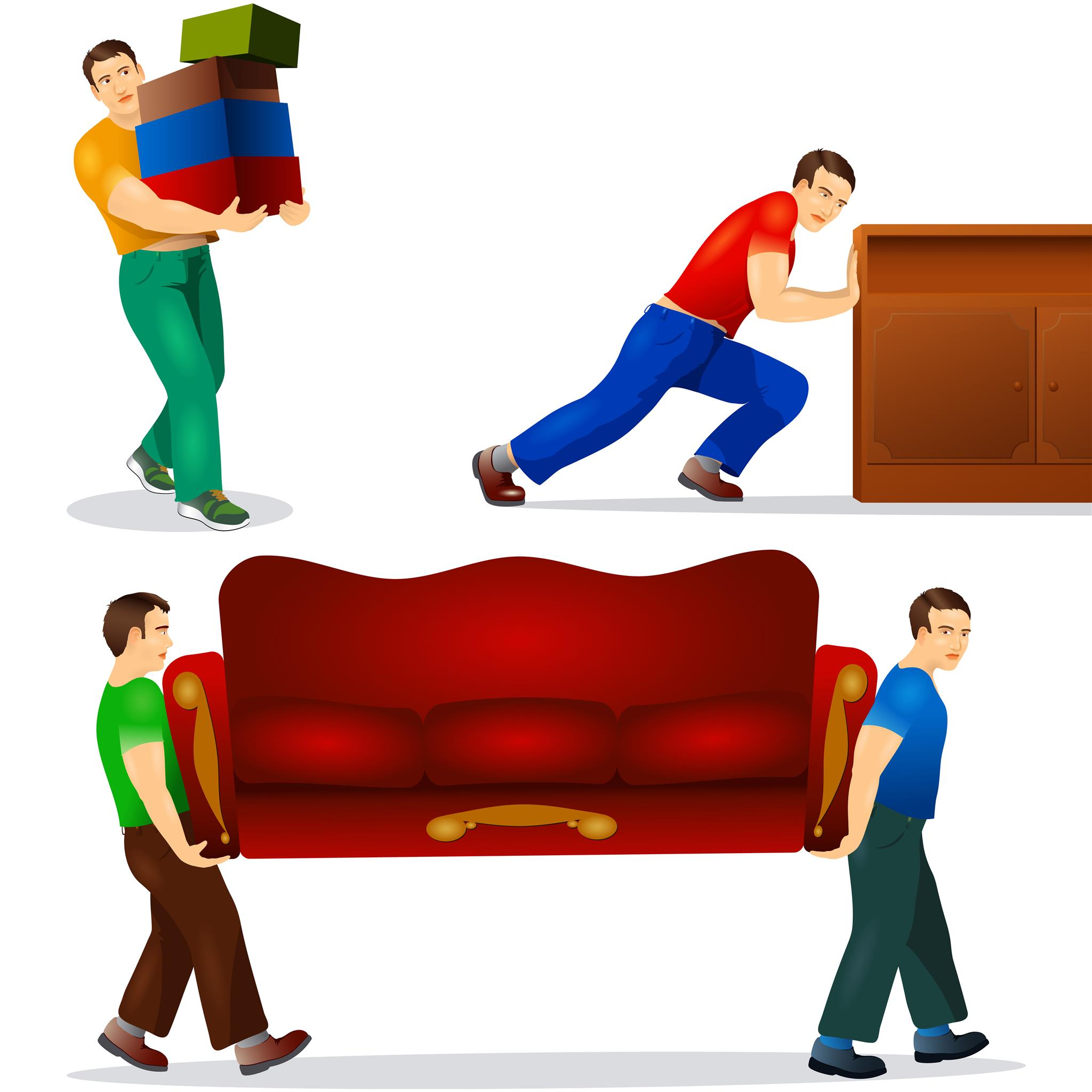 Furniture removal in Crystal City