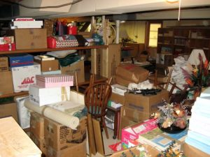 basement clean out hacks