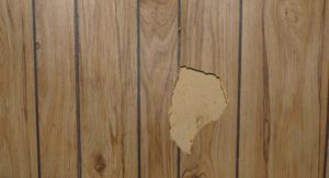 interior wall paneling removal