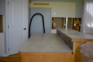 kitchen island removal
