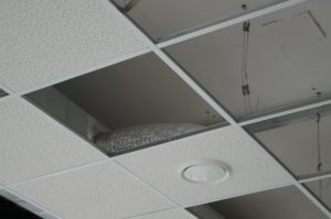 suspended ceiling removal